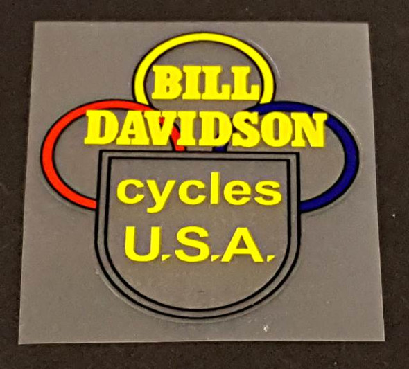 Davidson Head Badge Decal - Choice of Color