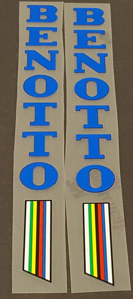 Benotto Seat Tube Decals - 1 Pair - Choose Color