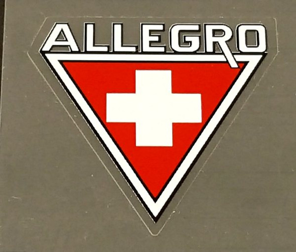 Allegro Head Badge Decal