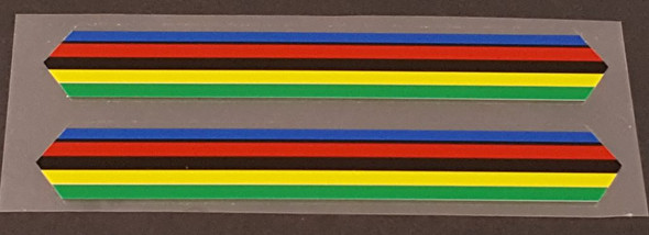 Allegro 5-Color Bands - 1 Pair