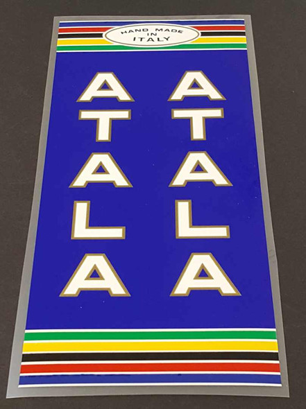 Atala Seat Tube Wrap Decal - Choose Colors