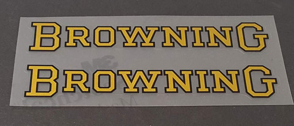 Browning Down Tube Decals - 1 Pair - Choice of Color