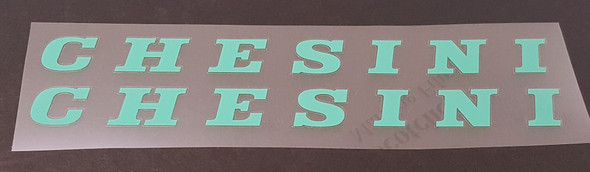 Chesini Down Tube Decals - 1 Pair - Choose Color