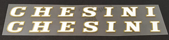 Chesini Down Tube Decals - 1 Pair - Choose Colors
