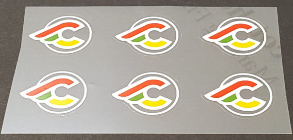 Cinelli Small Logo Decals - set of 6