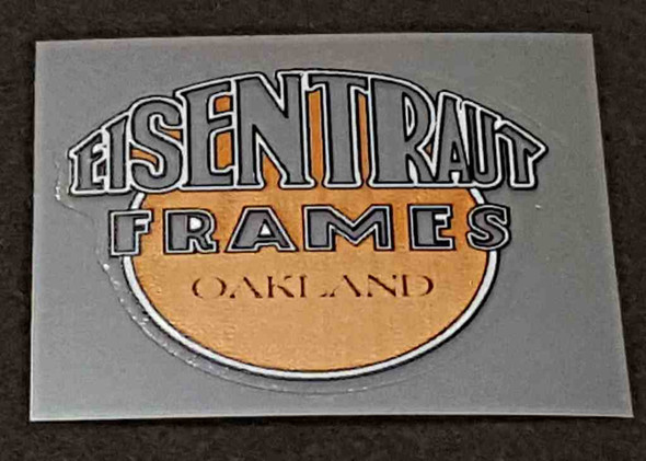 Eisentraut Badge Decal - Choose Colors