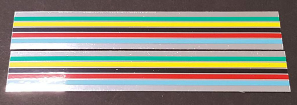 Ellis-Briggs Bicycle Stripes Decals w/Chrome - 1 Pair