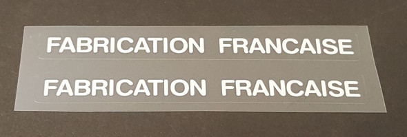 Fabrication Francaise Bicycle Decals - 1 Pair - Choose Color