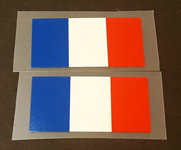 France Flag Bicycle Decals - 1 Pair