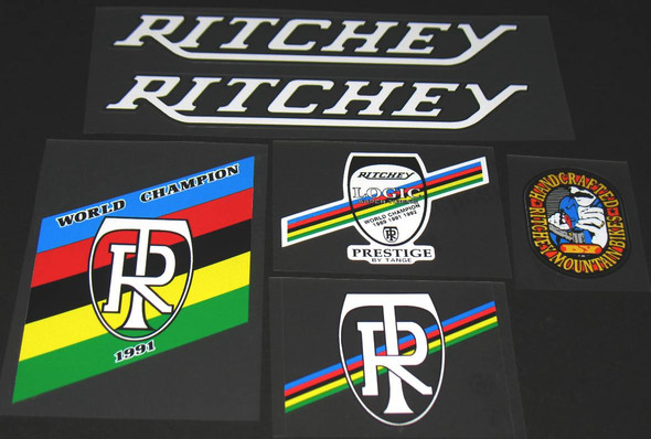 Ritchey Crazy Pete Bicycle Decal Set