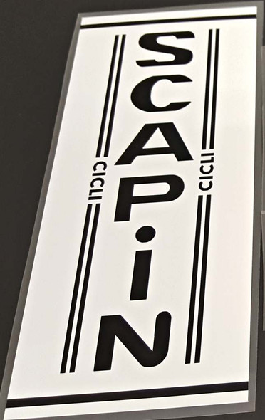 Scapin Bicycle Seat Tube Wrap Decal