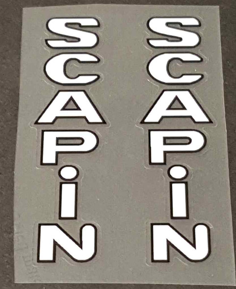Scapin Bicycle Fork Decals - 1 Pair - Choose Colors