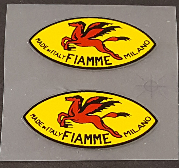 Fiamme Ultralight Rim Decals - 1 Pair