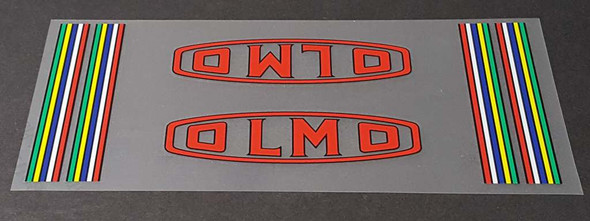 Olmo Bicycle Down Tube Wrap Decal
