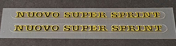 Olmo Nuovo Super Sprint Top Tube Decals - 1 Pair - Choose Colors