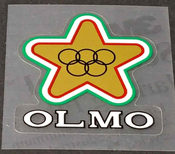 Olmo Bicycle Head Badge Decal