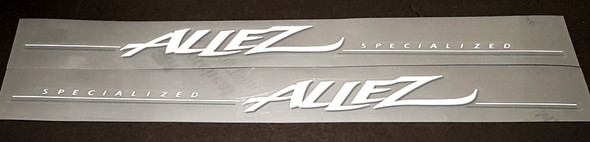 Specialized Allez Down Tube Decals - 1mil vinyl with UV Laminate - Half Price