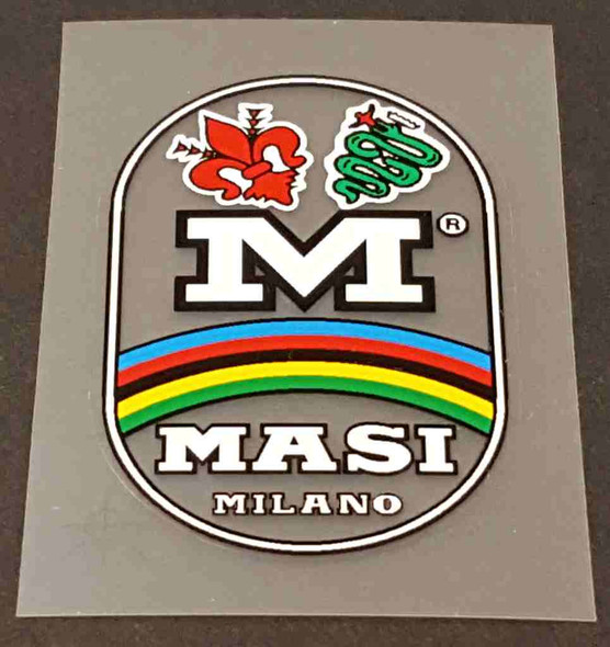 Masi Bicycle Head Badge Decal - Choose Color