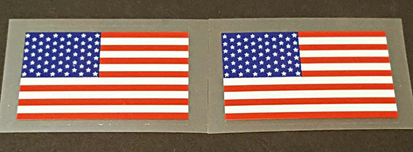 USA Flag Decals - 1 Pair