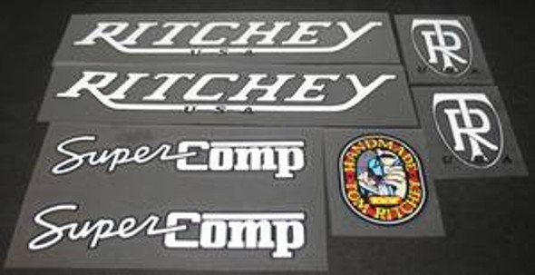 Ritchey 1987 Super Comp Bicycle Decal Set