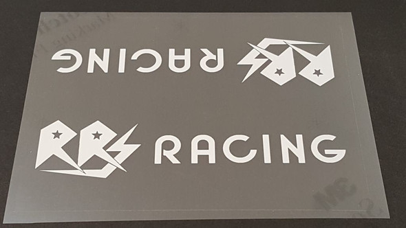RRS Racing Bicycle Down Tube Panel Decal - Choose Color