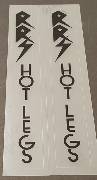 RRS Racing Bicycle Fork Decals - Choose Color