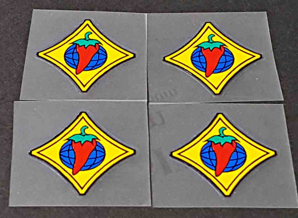 Salsa Bicycle Small Decals - Set of 4