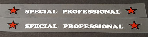 Viner Bicycle Special Professional Top Tube Decal - 1 Pair - Choose Color