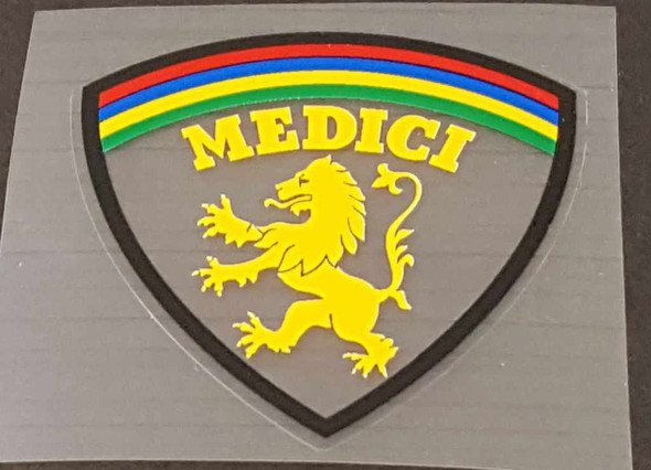 Medici Bicycle Seat Tube Decal - Choose color