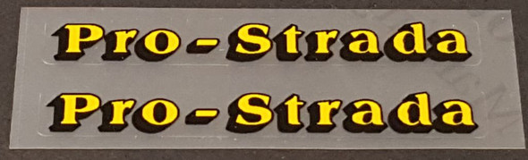 Medici Bicycle Pro-Strada Stay Decals - 1 Pair - Choose Color