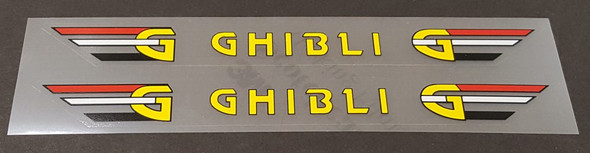 Rossin Ghibli Stay Decals - Choose Letter Color