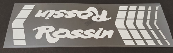 Rossin Down Tube Wrap Decal - Choose Color