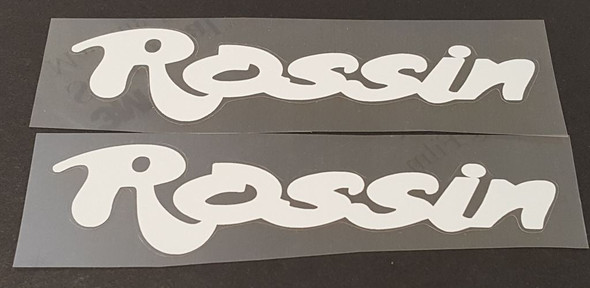 Rossin Down Tube decals - 1 Pair - Choose Color