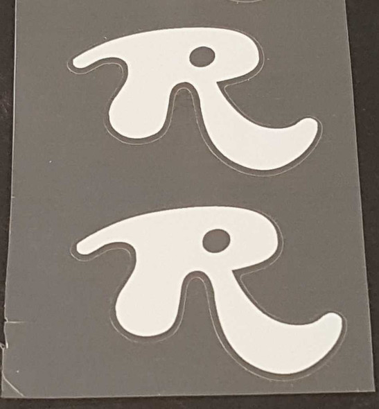 Rossin Badge Decals - 1 Pair - Choose Color