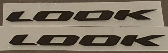 Look Bicycle Stay Decals - 1 Pair - Choose Color & Size