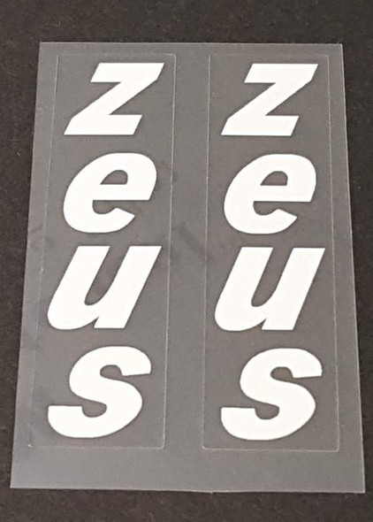 Zeus Bicycle Stay Decals - 1 Pair