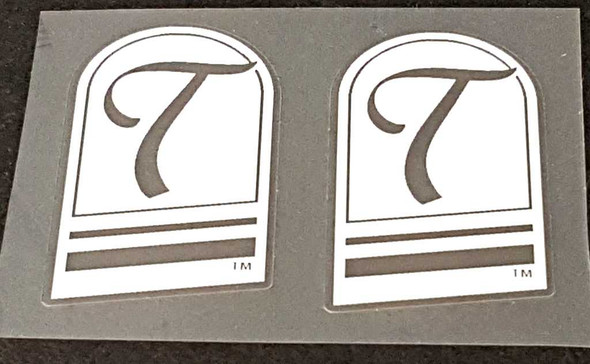Tommaso Fork Decals - Choose Color - 1 Pair