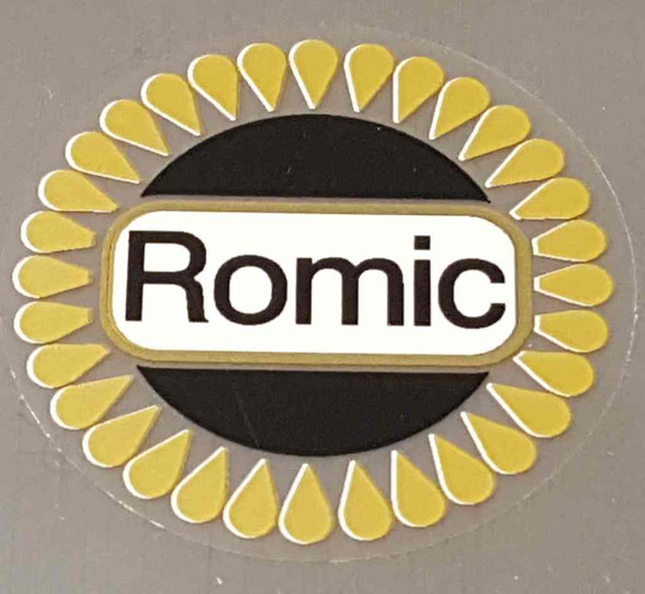 Romic Head Badge Decal
