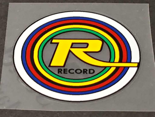Record Bicycle Seat Tube Decal - Choose Color