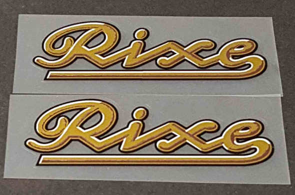 Rixe Bicycle Down Tube Decals - 1 Pair