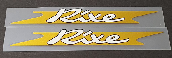 Rixe Bicycle Down Tube Decals--1 Pair
