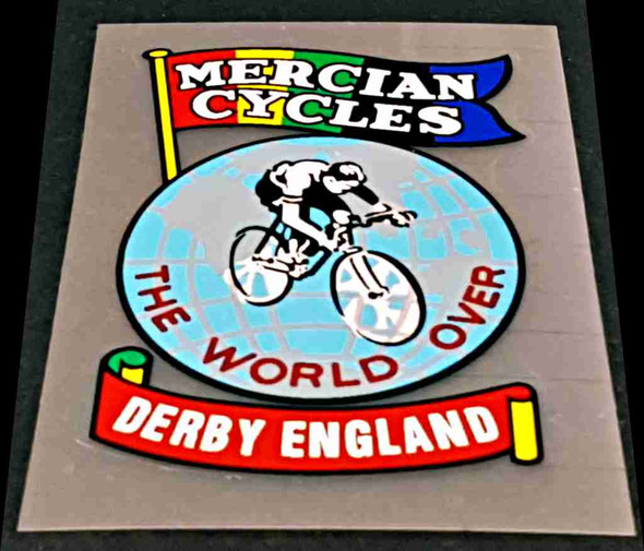Mercian Bicycle Badge Decal