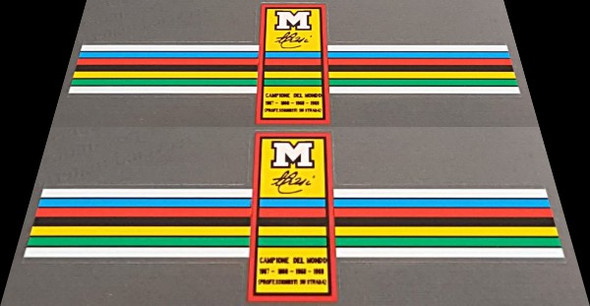Masi Bicycle Color Bands Decals - 1 Pair - Choose Letter Color