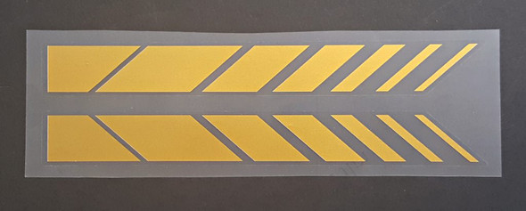 Motobecane Down Chevron Decals  - Choose Color