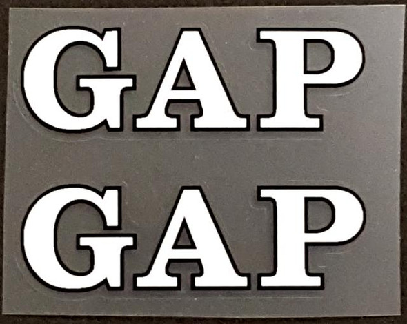 Basso Bicycle GapTop Tube Decals - 1 Pair - Choose Color