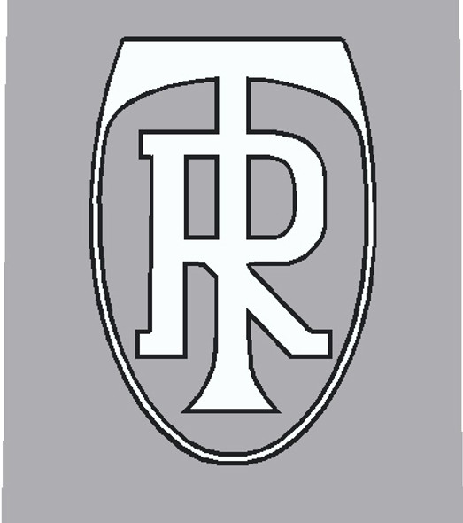 Ritchey Head Badge Decal - Choose Colors - Letter- Outline