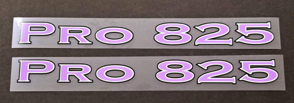 Parkpre Bicycle Pro 825 Top Tube Decals - 1 Pair - Choose Color