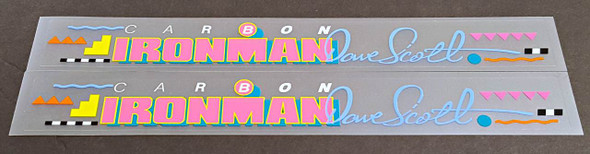 Centurion Carbon Ironman Bicycle Stay Decals - 1 Pair