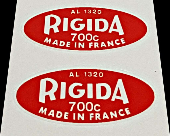 Rigida Rim Decals - 1 Pair
