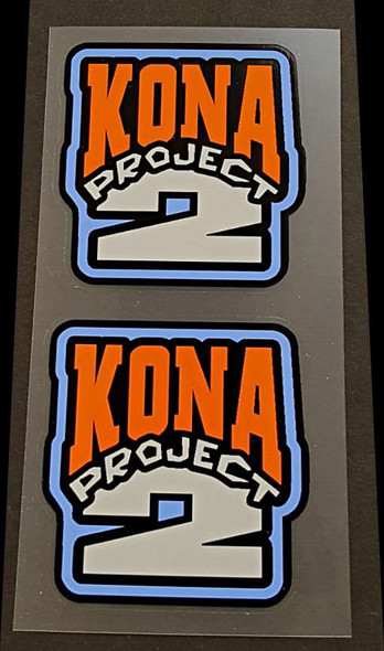 Kona Project 2 Fork Decals - 1 Pair